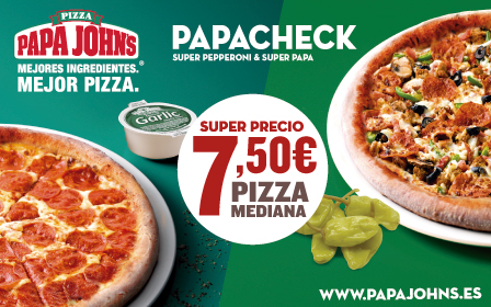 Pizza Mediana 7,50€