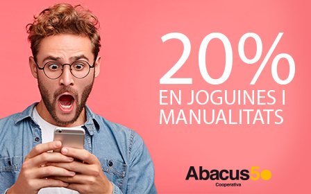 20% descompte Abacus