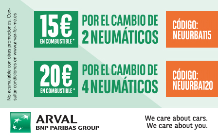 Hasta 20€ en combustible