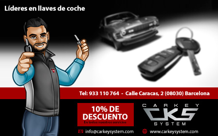 10% de dto. en Car Key System