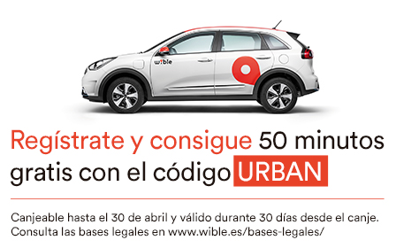50 minutos GRATIS con Wible