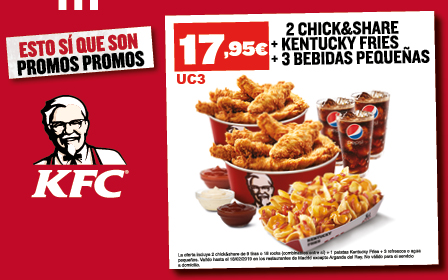 Pack Chick & Share por 17,95€
