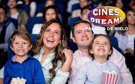51% de dto. Cines Dreams